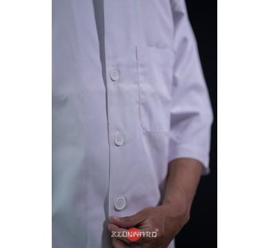 Three-quarter sleeve 4 buttons