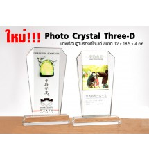 Photo Crystal Three-D Cup