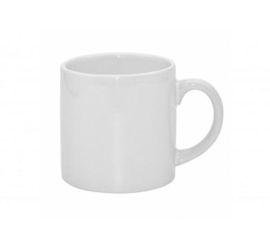 White Ceramic Mug, Size 6 oz (Espresso)